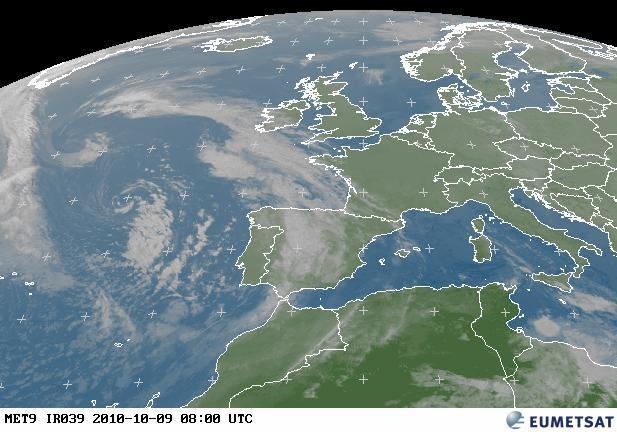 UK Europe Weather Satellite Images - Latest satellite photos